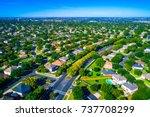 green escape luxury living... | Shutterstock . vector #737708299