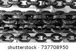heavy industrial metal strong...   Shutterstock . vector #737708950