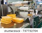 industrial equipment for food... | Shutterstock . vector #737732704