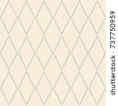tile vector pattern with pink... | Shutterstock .eps vector #737750959
