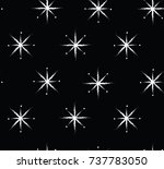 premium christmas snowflake... | Shutterstock .eps vector #737783050