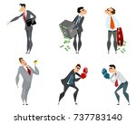 vector illustration of set of... | Shutterstock .eps vector #737783140