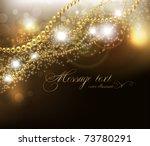 abstract golden vector... | Shutterstock .eps vector #73780291