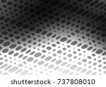 dark silver  gray vector doodle ... | Shutterstock .eps vector #737808010