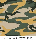 camouflage pattern | Shutterstock .eps vector #737819290