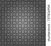 abstract vector geometric... | Shutterstock .eps vector #737826904