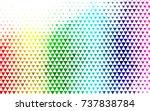 light multicolor  rainbow... | Shutterstock .eps vector #737838784