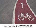 bike path   Shutterstock . vector #737853238