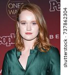 Small photo of LOS ANGELES - OCT 04: Liv Hewson arrives for the People's 'One's To Watch' Event on October 4, 2017 in Hollywood, CA