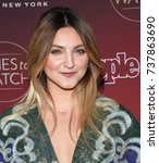 Small photo of LOS ANGELES - OCT 04: Julia Michaels arrives for the People's 'One's To Watch' Event on October 4, 2017 in Hollywood, CA