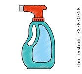 spray bottle product icon | Shutterstock .eps vector #737870758