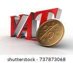3d illustration of value added... | Shutterstock . vector #737873068