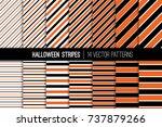 Halloween Stripes Vector...