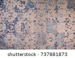 handmade graphic and abstract... | Shutterstock . vector #737881873