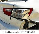 Rare Damaged Brake Light Of A...