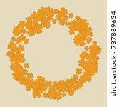 vector confetti background...   Shutterstock .eps vector #737889634