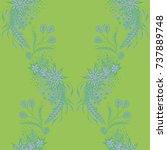 wallpaper rapport. seamless...   Shutterstock .eps vector #737889748