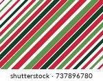 red  white and green diagonal...   Shutterstock .eps vector #737896780