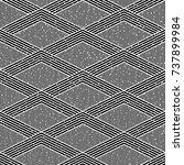 seamless black and white grunge ...   Shutterstock .eps vector #737899984