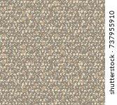 abstract flake dot mottled... | Shutterstock .eps vector #737955910