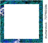 multicolor photo frame and... | Shutterstock . vector #737983186