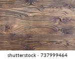 the texture of mahogany. old...   Shutterstock . vector #737999464