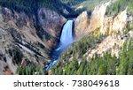 yellowstone canyon   Shutterstock . vector #738049618