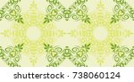 seamless abstract floral... | Shutterstock .eps vector #738060124