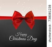 happy christmas. happy new year....   Shutterstock .eps vector #738081238