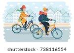 vector cartoon illustration of... | Shutterstock .eps vector #738116554