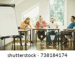 education  knowledge  wisdom... | Shutterstock . vector #738184174