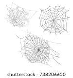 web sketch vector illustration. ... | Shutterstock .eps vector #738206650