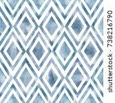 watercolor seamless pattern....   Shutterstock . vector #738216790