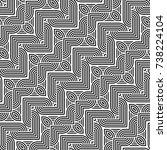 design seamless monochrome... | Shutterstock .eps vector #738224104