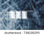performance boost conceptual... | Shutterstock . vector #738230293