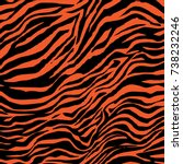 animal skin pattern | Shutterstock .eps vector #738232246
