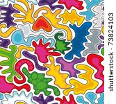 abstract seamless texture | Shutterstock .eps vector #73824103