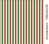beautiful striped christmas... | Shutterstock .eps vector #738243130