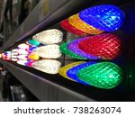Close Up Of Colorful Led...