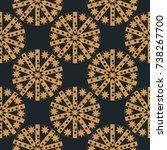 geometric seamless pattern....   Shutterstock .eps vector #738267700