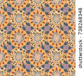 abstract color seamless pattern ...   Shutterstock .eps vector #738268348