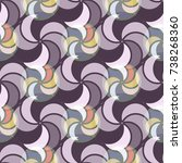 abstract color seamless pattern ...   Shutterstock .eps vector #738268360