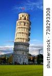 leaning tower of pisa  pisa ...   Shutterstock . vector #738293308