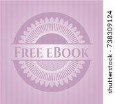 free ebook vintage pink emblem