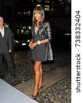 Small photo of Milan - Naomi Campbell visits the city during the fashion week in september 2016