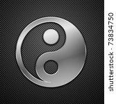 metallic dao. vector... | Shutterstock .eps vector #73834750
