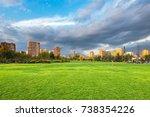 santiago  region metropolitana  ... | Shutterstock . vector #738354226