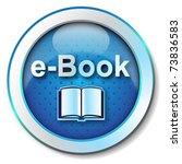 e book icon   Shutterstock . vector #73836583