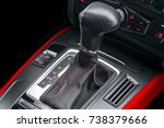 Automatic Gear Stick With Red...