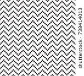 abstract background in pixel... | Shutterstock .eps vector #738414013